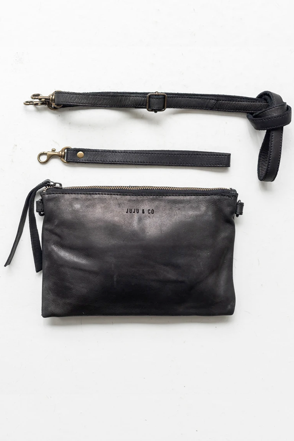 Juju & Co | Monterey Cross Body Small - Black