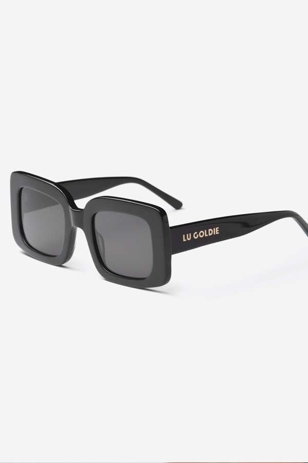 Lu Goldie | Mia Sunglasses - Black