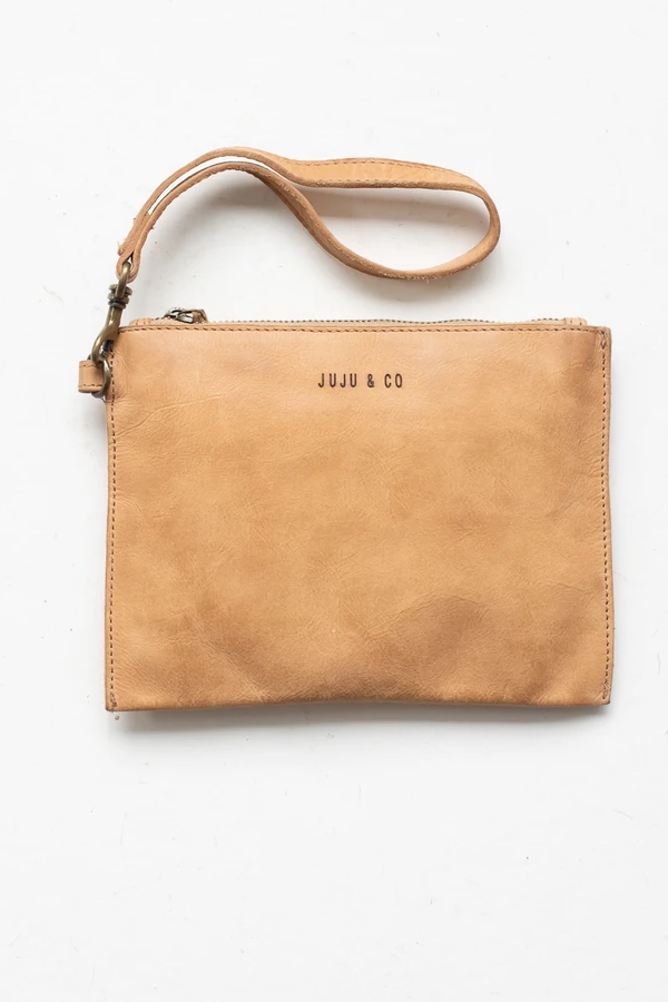 Juju & Co | Flat Pouch Small - Natural