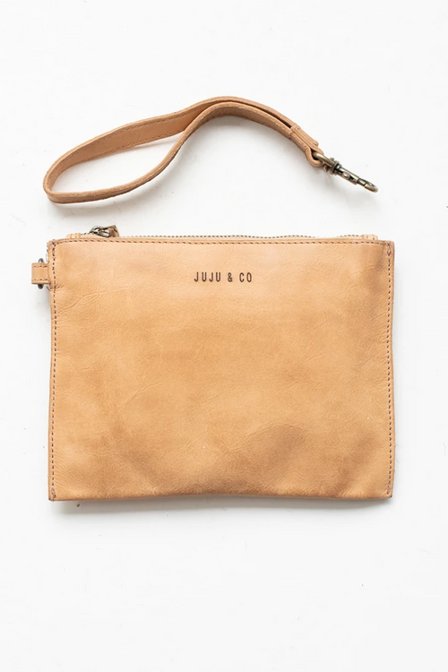 Flat Pouch Small - Natural