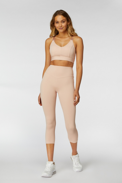 L'urv Sportswear | Sweet Sanctuary 3/4 Legging - Blush