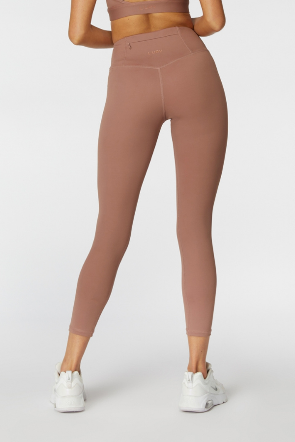 L'urv Activewear | Sweet Sanctuary 7/8 Legging - Petal