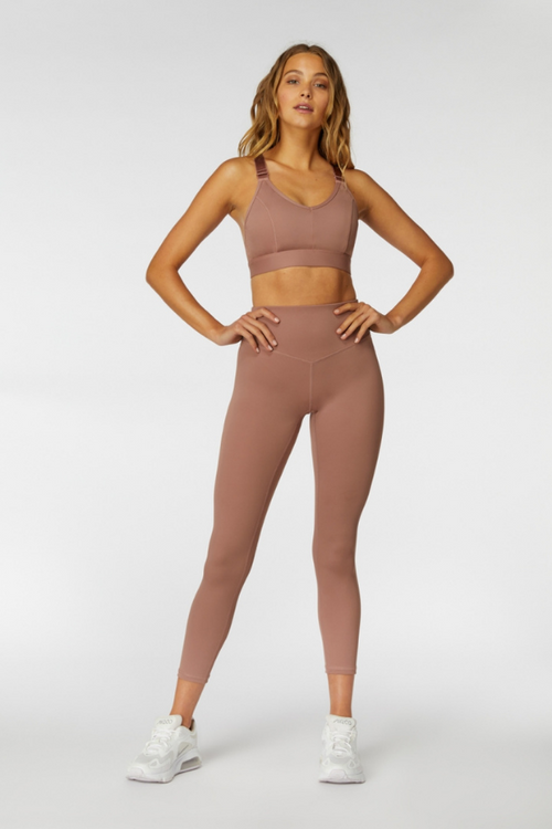 L'urv Sportswear | Sweet Sanctuary Crop - Petal