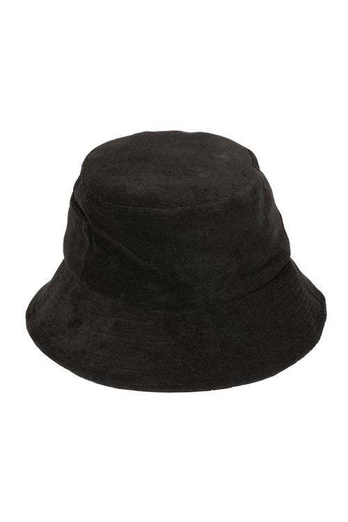Lack of Color Aus Wave Bucket - Black Terry