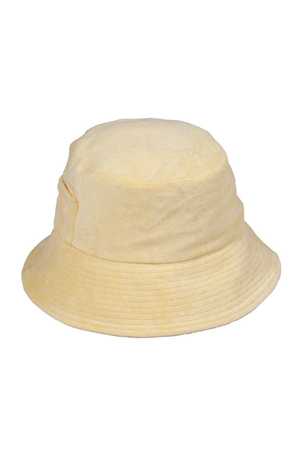 Lack of Color Australia Wave Bucket - Yellow Terry