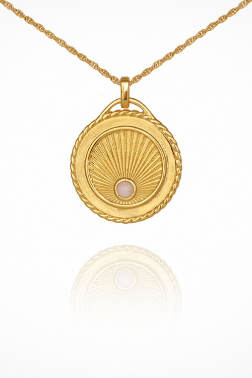 Temple Of The Sun | Aadi Necklace - Gold
