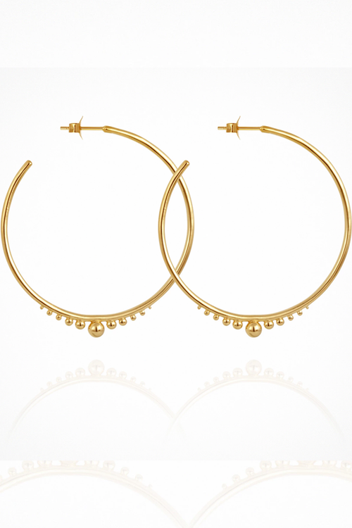 Diona Earrings - Gold