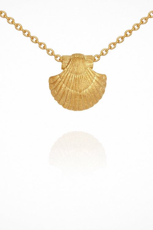 Temple Of The Sun | Sia Necklace - Gold