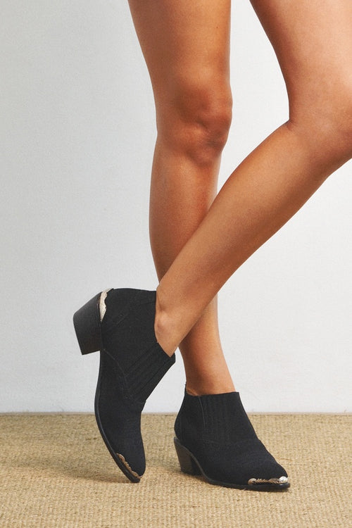 Chicko Boots - Black Suede