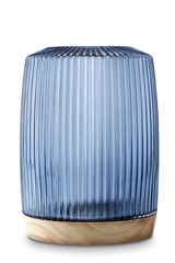 Pleat Vase XL - Ink Blue