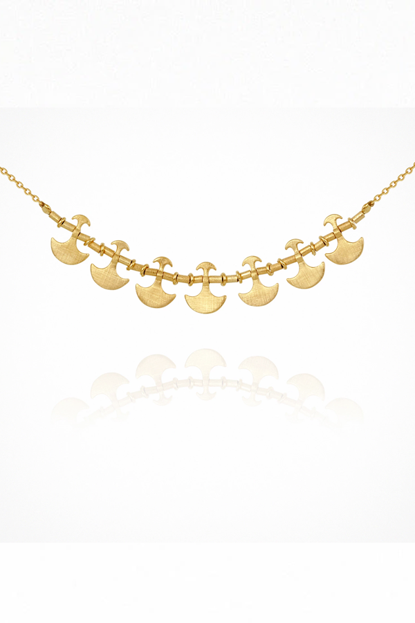 Theleka Necklace - Gold