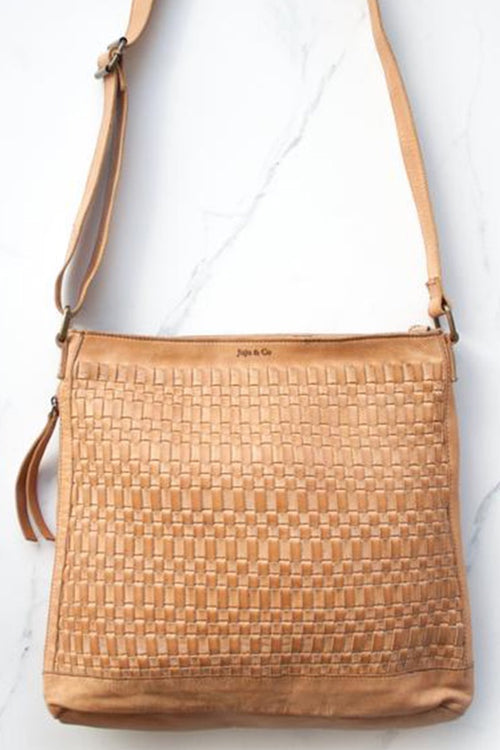 Woven Hobo Bag - Natural