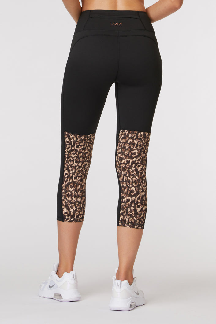L'urv Activewear | Free Spirited 3/4 Legging