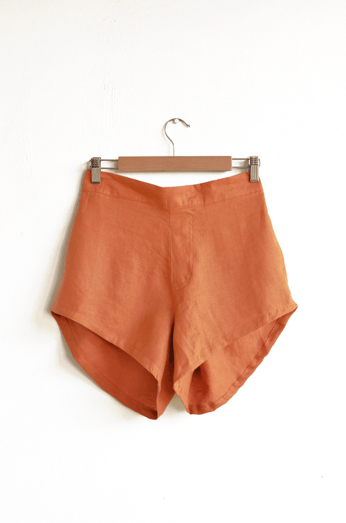 Kekoa Shorts - Rust