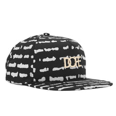 Disrupted Gold Logo Snapback