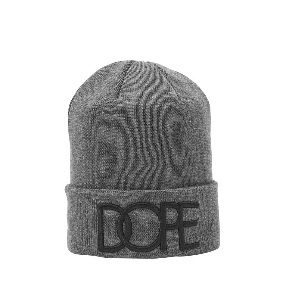 3D Embroidered Beanie