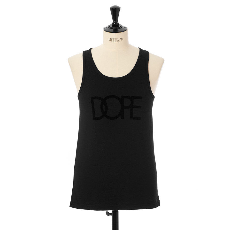 Flocked Logo Tank