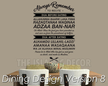 Dining Design Version 08 Decal