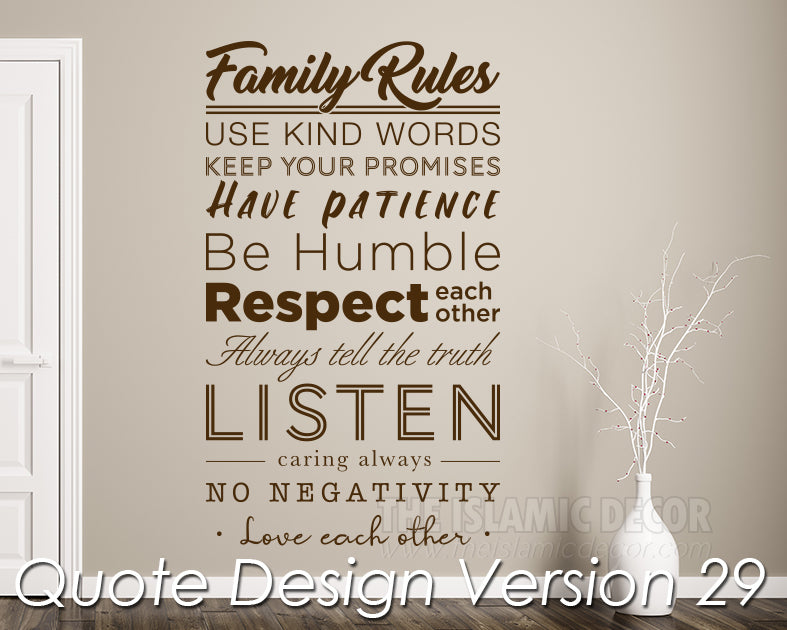 Quote Design Version 29 Decal