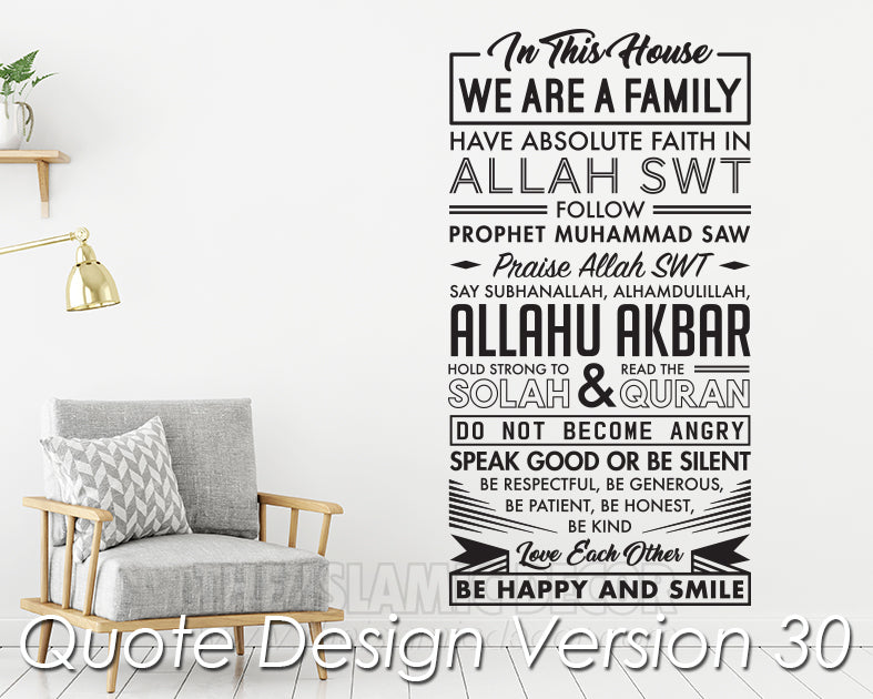 Quote Design Version 30 Decal