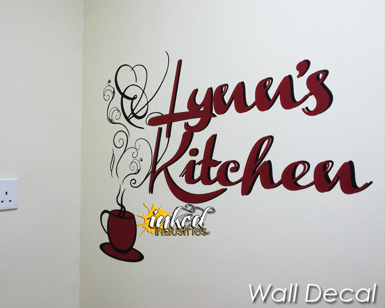 Custom Kitchen Design Version 1 Wall Decal - The Islamic Decor - 3
