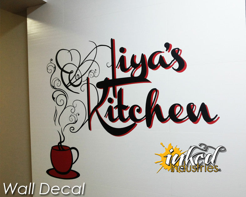 Custom Kitchen Design Version 1 Wall Decal - The Islamic Decor - 4