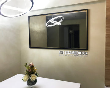 Plain Frame Mirror - 24 inch by 48 inch