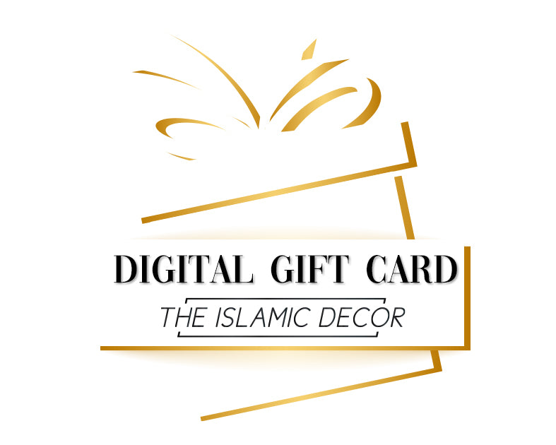 The Islamic Decor Gift Card