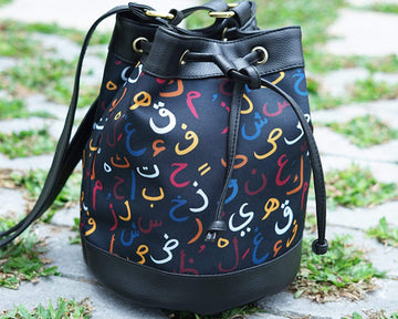 Hijaiyyah Bucket Bag