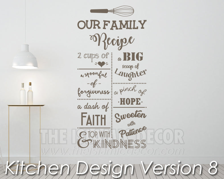 Kitchen Design Version 8 Decal