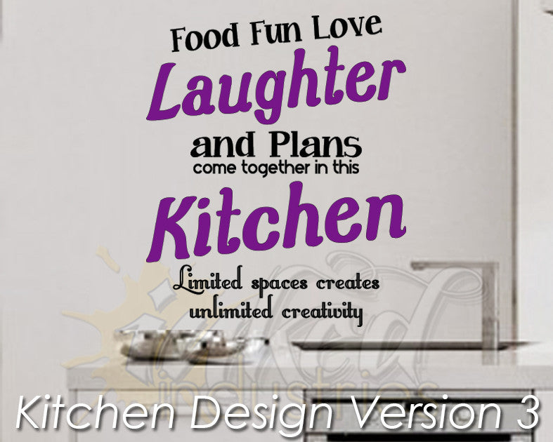 Kitchen Design Version 3 Decal - The Islamic Decor - 1