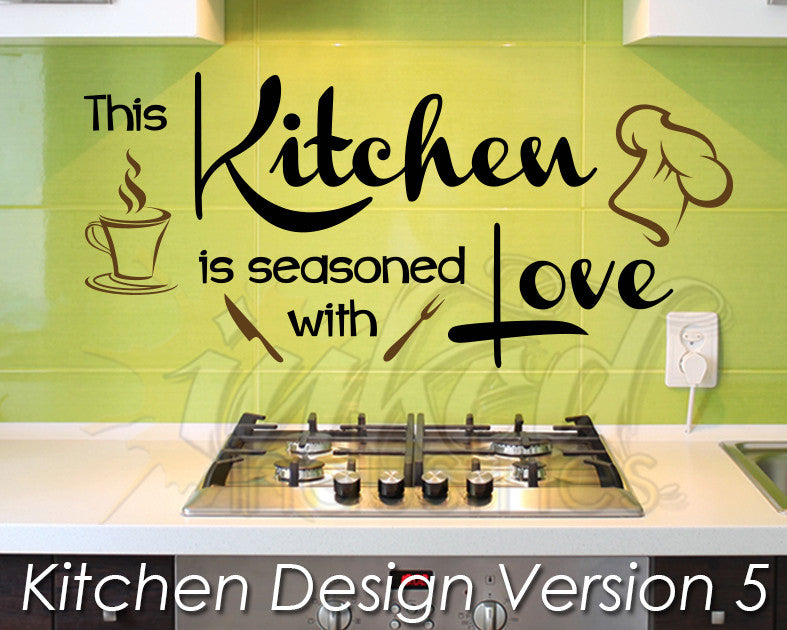 Kitchen Design Version 5 Decal - The Islamic Decor - 1