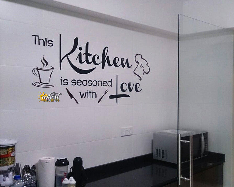 Kitchen Design Version 5 Decal - The Islamic Decor - 4