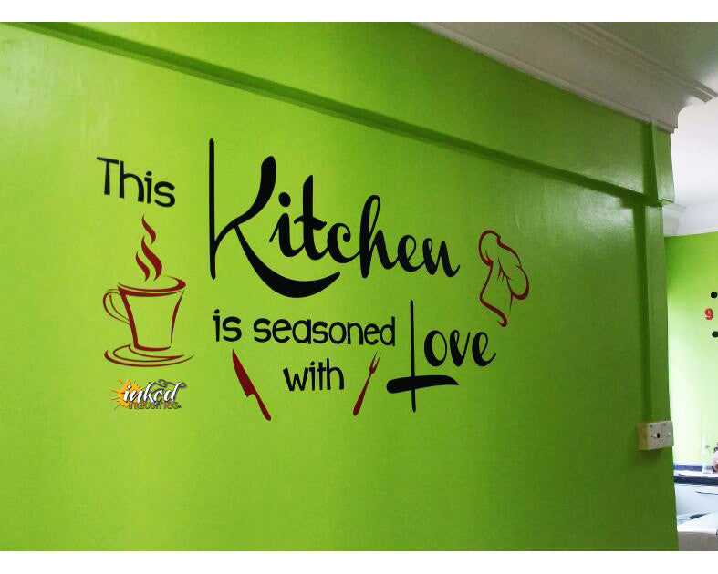 Kitchen Design Version 5 Decal - The Islamic Decor - 5
