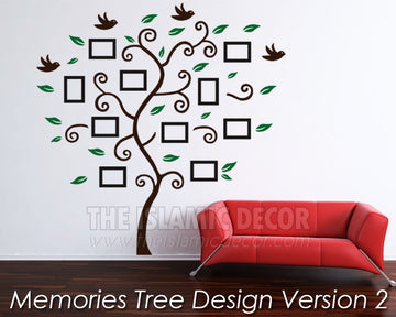 Memories Tree Design Version 2 - The Islamic Decor