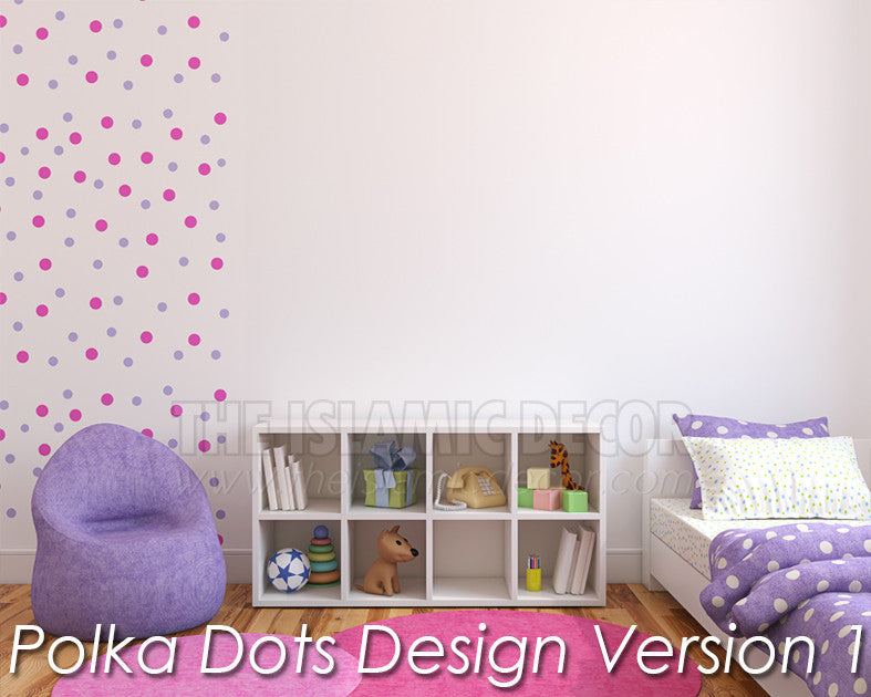 Polka Dots Design Version 1 - The Islamic Decor