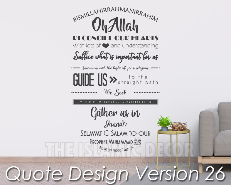 Quote Design Version 26 Decal
