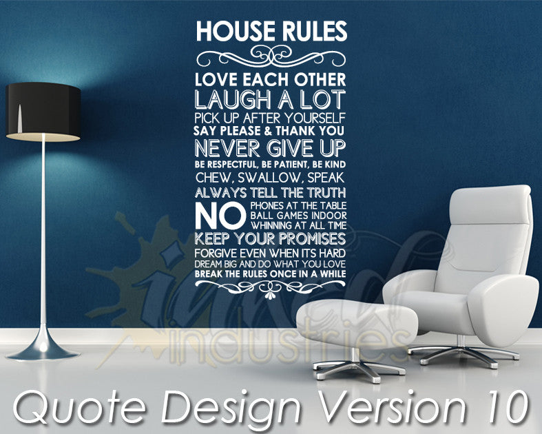 Quote Design Version 10 Decal - The Islamic Decor - 1