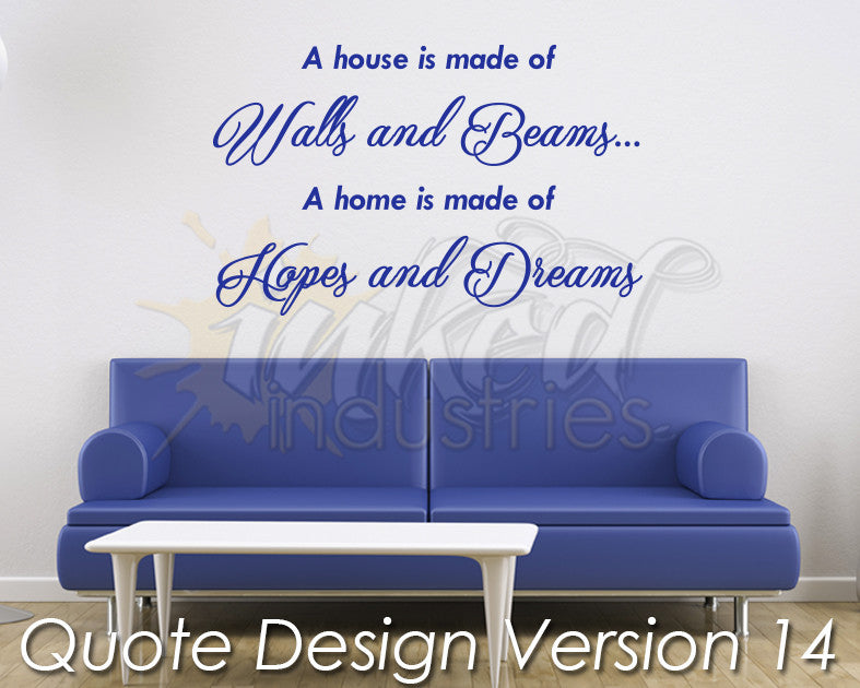 Quote Design Version 14 Decal - The Islamic Decor - 1