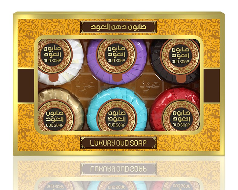 OudLuxury - Miniature Soap (6pc Variety Pack)