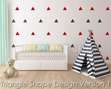 Triangle Shape Design Version 1 - The Islamic Decor