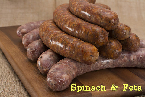 Spinach & Feta Chicken Sausage