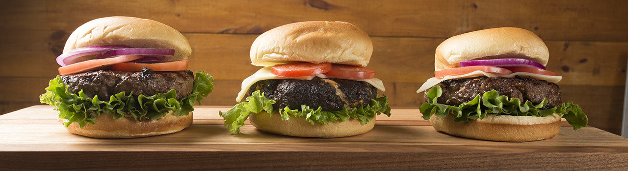 Our Fresh Ground Specialty Burgers