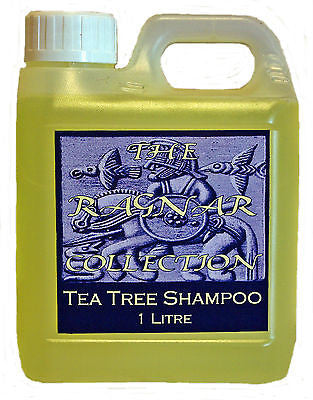 TEA TREE SHAMPOO - 1 Litre - Soothing, Anti-Bacterial Horse Shampoo
