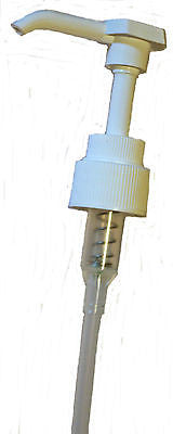 Pump Dispenser-White-28mm Neck-Ideal for Lotions,Shampoos,Handwash