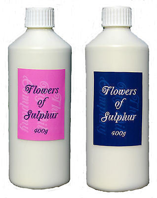 FLOWERS OF SULPHUR POWDER-400g-