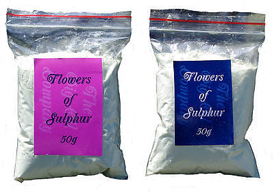 FLOWERS OF SULPHUR POWDER-50g-