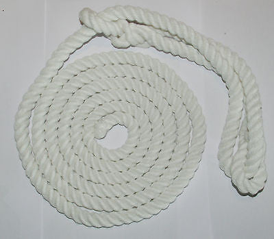 BRITISH-MADE ROPE HALTERS - Soft and Durable-16mm Thick- White & Multi-coloured