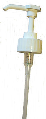 Pump Dispenser-White-38mm Neck for 5L bottles-Ideal for Lotions,Shampoo,Handwash