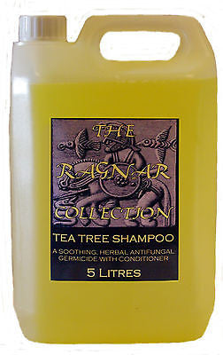 TEA TREE SHAMPOO- 5 LITRES-A soothing, antibacterial horse / pet shampoo